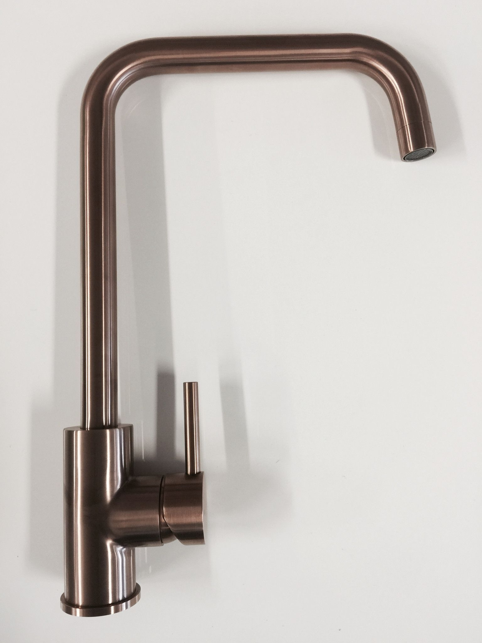Contemporary Kitchen cUPC full Solid Stainless Steel kitchen faucet ...