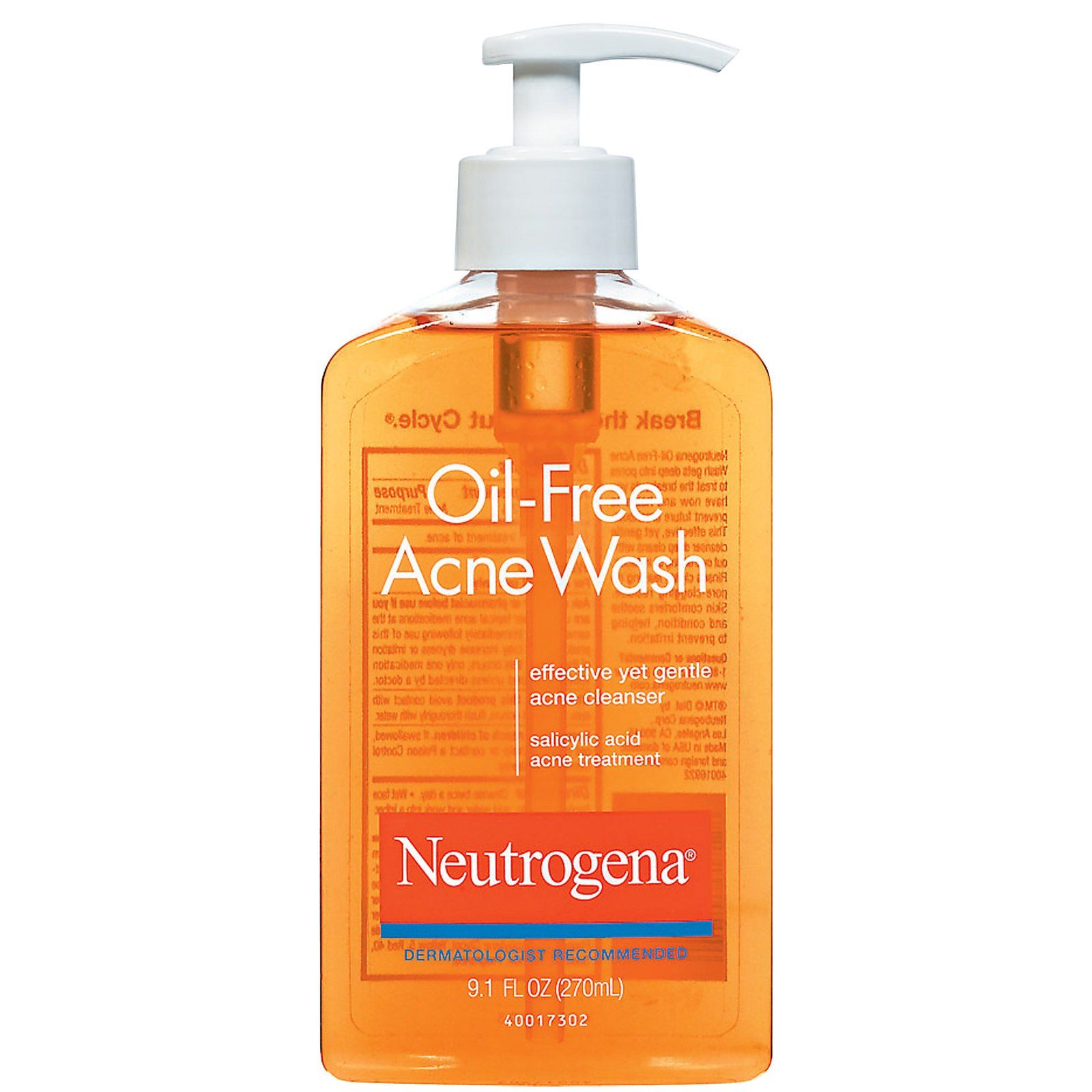 classic and effective Oil free acne wash, Acne wash
