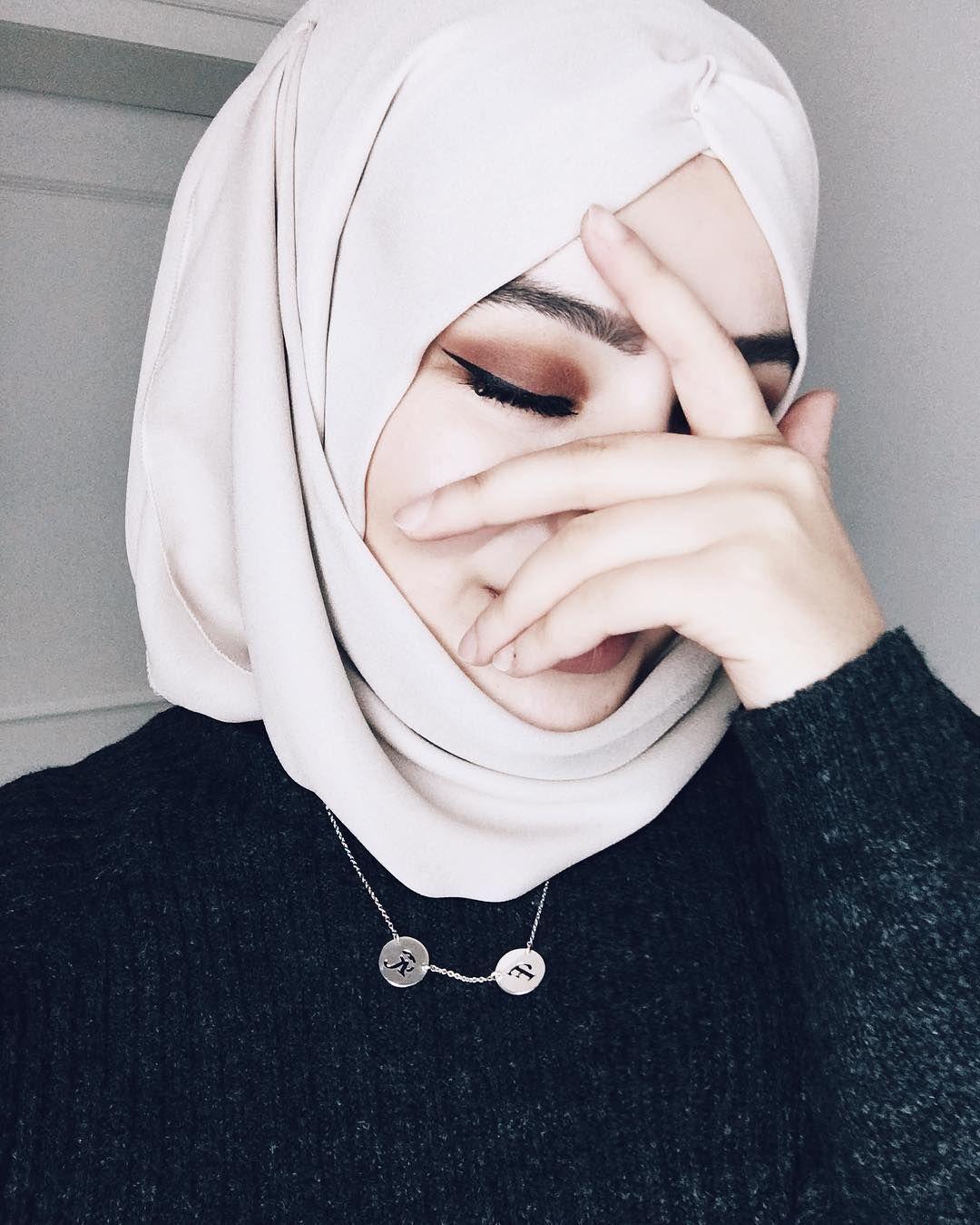 Картинки на аву мусульманка без лица
