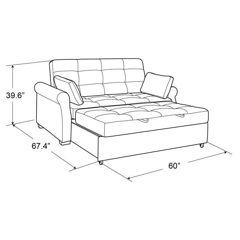 Serta Haiden Queen Sofa Bed Gray Walmart Com In 2020 Comfortable Sofa Bed Queen Size Sofa Bed Pull Out Sofa Bed