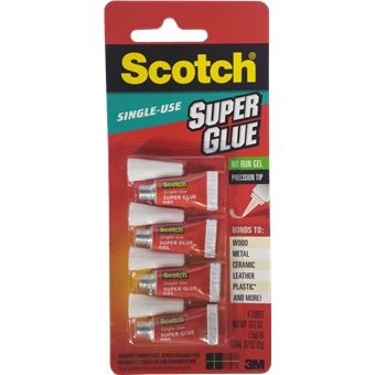 3m scotch super glue gel 2gm -(4tubes/pk)-ad119 | Chemical
