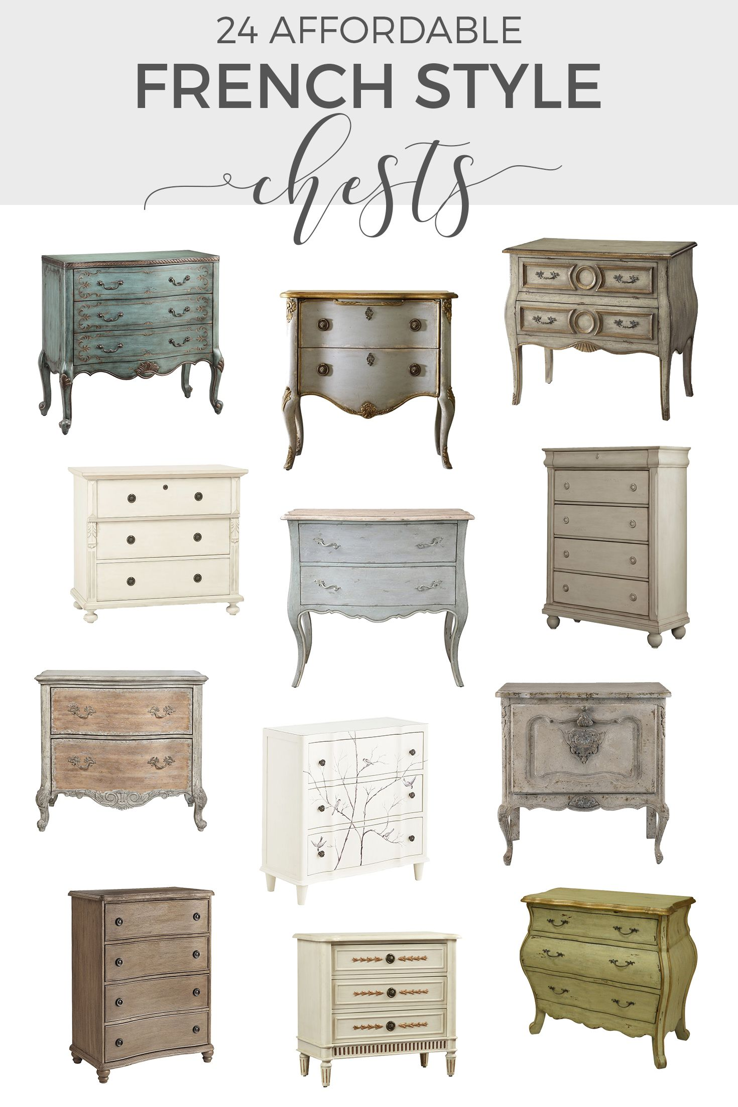 The French Dresser 24 Affordable