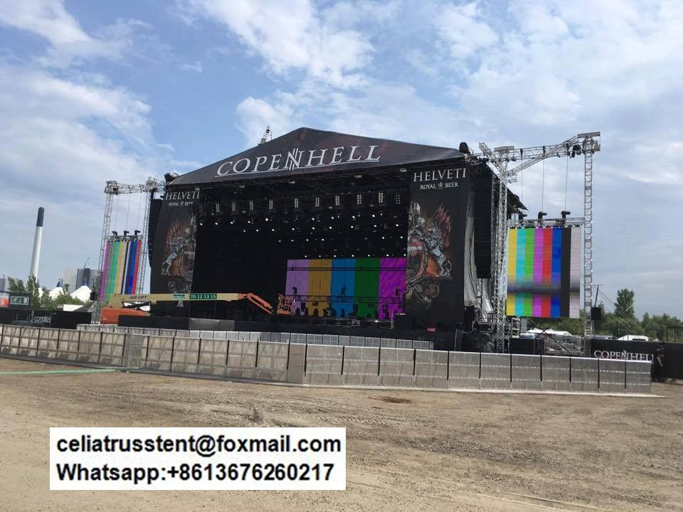 Outdoor Stage Roof Truss China Factory Best Price Outdoor Stage Roof Trusses Event Tent