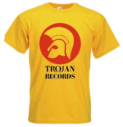 ff811306 Trojan Records T-Shirt   want   Reggae, Shirts, T shirt