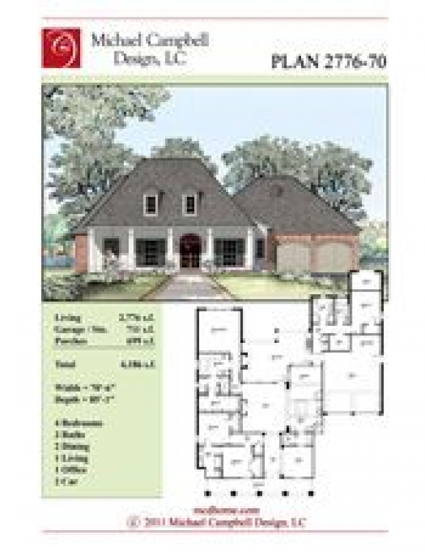 Great Buildings And Structures Country House Plans Square Country House Plans 2000 Square Fee In 2020 Acadian House Plans Country House Plans Porch House Plans