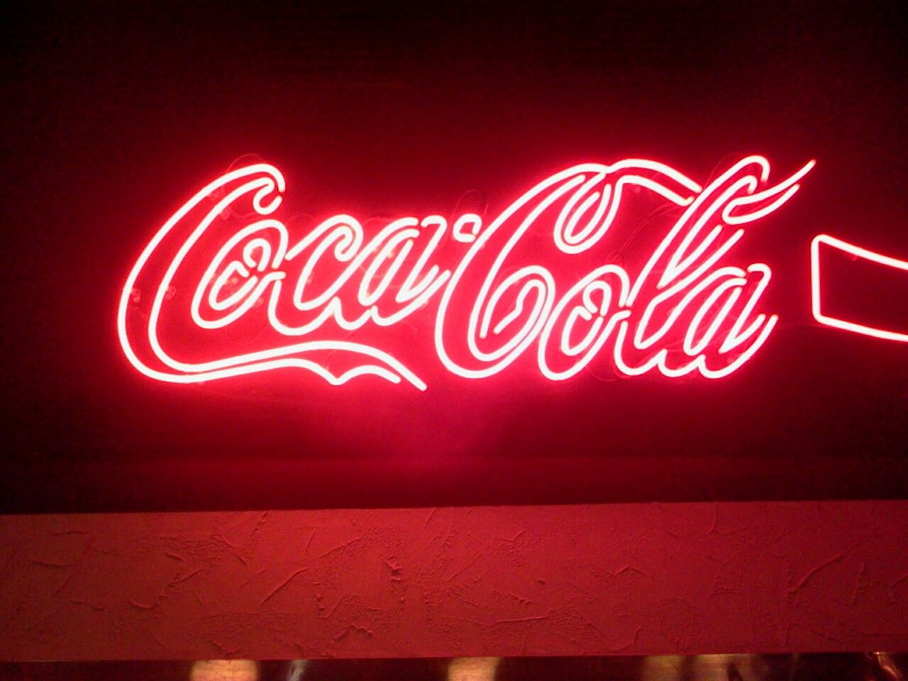 New Coca-Coke-Cola Bottle Real Glass Neon Sign Beer Bar Light Handmade Man Cave