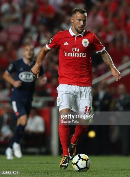 Benfica Forward Haris Seferovic From Switzerland In Action During The Primeira Liga Match Between Sl Benfica And Cf Os Belenense World Football Sports Football