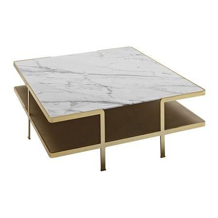 Soho Carrera Marble Coffee Table