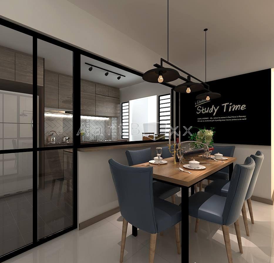 hdb bto scanindustrial concept at blk116a tenteram peak industrial decor kitchen kitchen on kitchen ideas singapore id=77132
