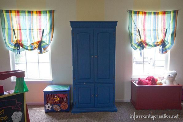 Playroom Reveal Playrooms, Colorful playroom and Alphabet wall