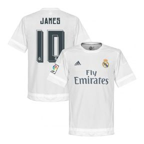 adidas  Real Madrid  James #10 Soccer Jersey (Home 2015/16)