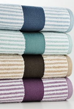 Sonoma Life Style Ultimate Performance Striped Bath Towels