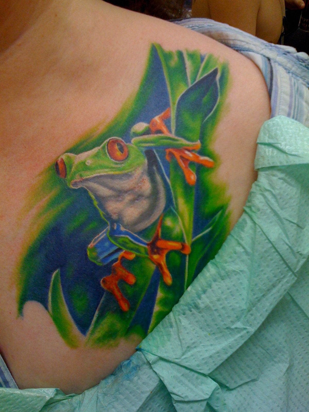 awesome Top 100 frog tattoos - http://4develop.com.ua/top-100-frog ...