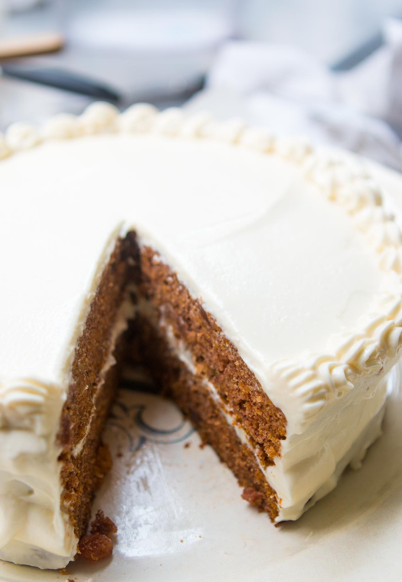 Carrot Cake With Cream Cheese Frosting Recipe Cake Recipes Carrot Cake Cake