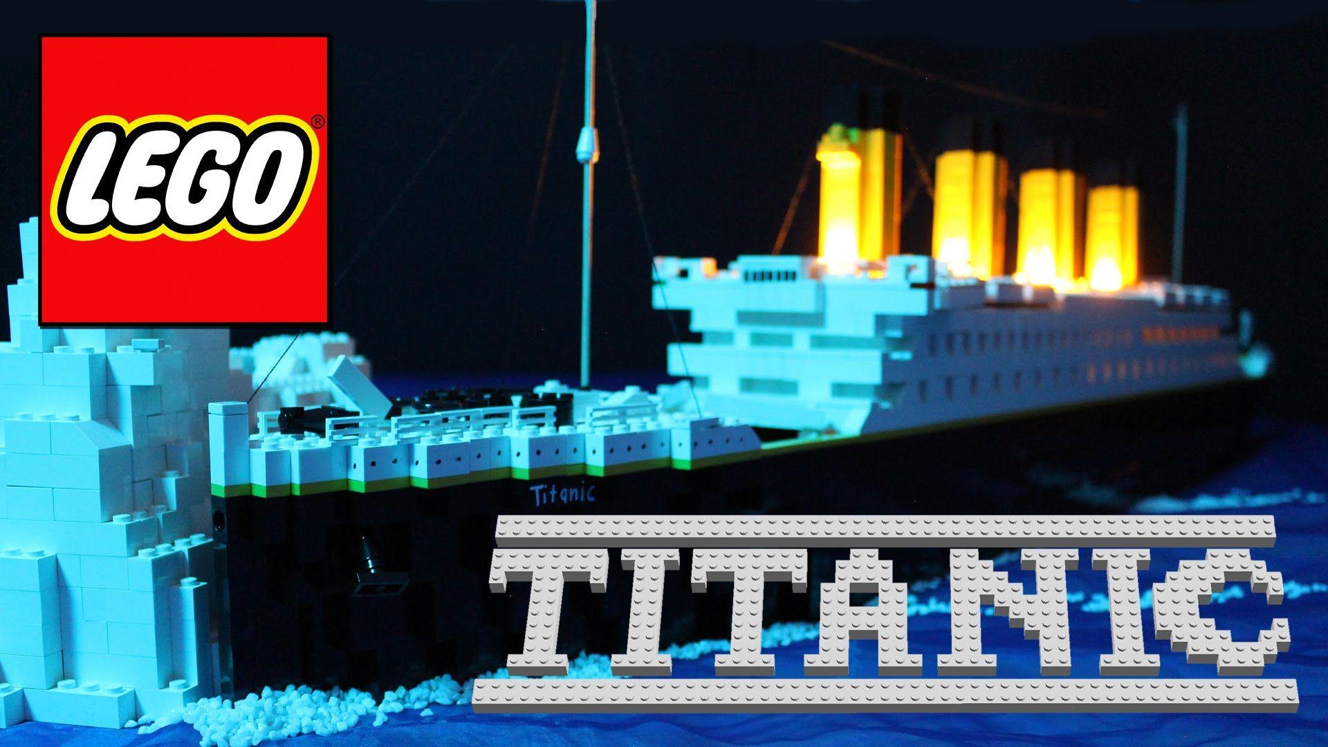 Купить конструктор лего титаник