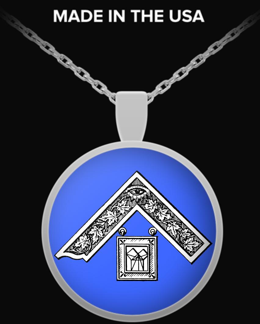 18 Masonic Past Master Necklace Freemason Necklace For Past Master