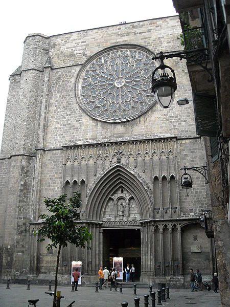 Barcelona: Basílica de Santa Maria del Pi (Pino)
