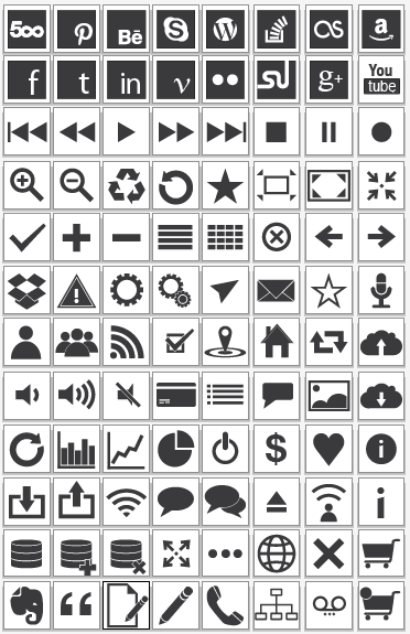 free vector 96 Vector Icons graphic available for free download at