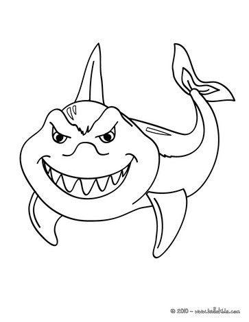 Funny Shark Funny Shark Coloring Page Shark Coloring Pages Animal Coloring Pages Desert Animals Coloring