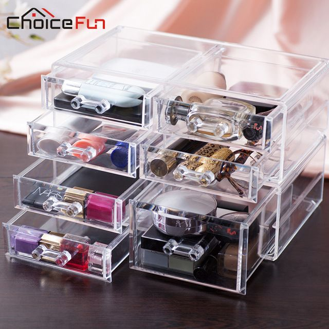 CHOICEFUN New Fashion 5 Drawers Jewelry Display Jewelry Organizer