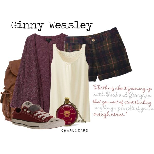 """Ginny Weasley"" by charlizard on Polyvore"
