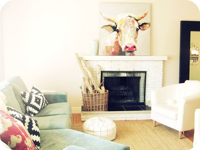 My House of Giggles Living Room Refresh (a DIY Kilim / Aztec Rug