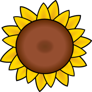 flower clip art vector clip art online royalty free public rh pinterest ie sunflower clipart in microsoft word sunflower clipart images