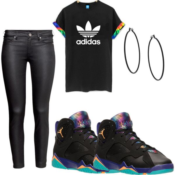 Untitled #79 by maneec on Polyvore featuring polyvore fashion style adidas Originals H&M Topshop
