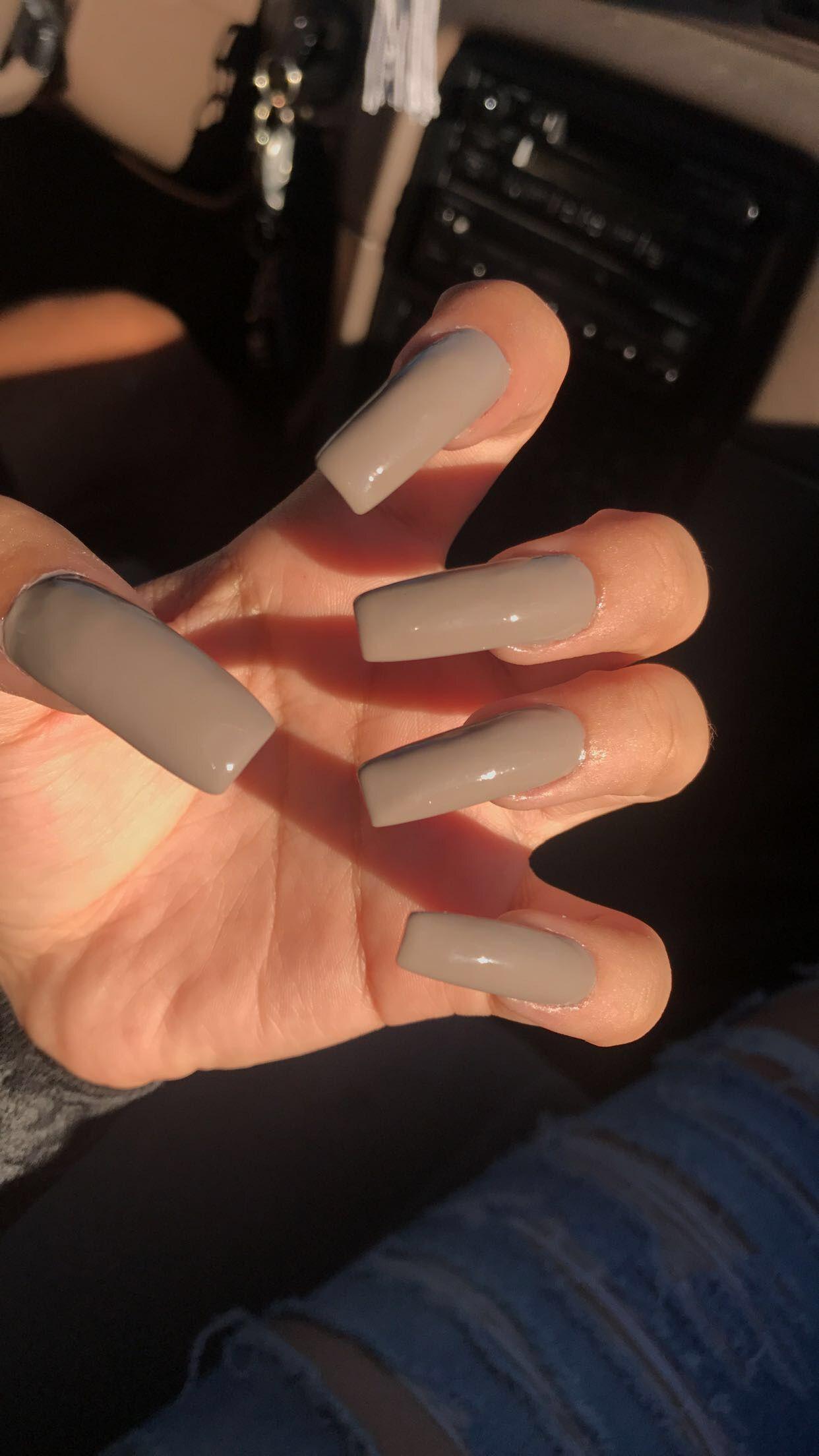 Long Acrylic Nails Long Square Nails Tapered Square Nails Square Nail Designs