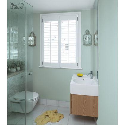 White Bathroom Paint Dulux dulux bathroom mint macaroon - soft sheen emulsion paint - 50ml
