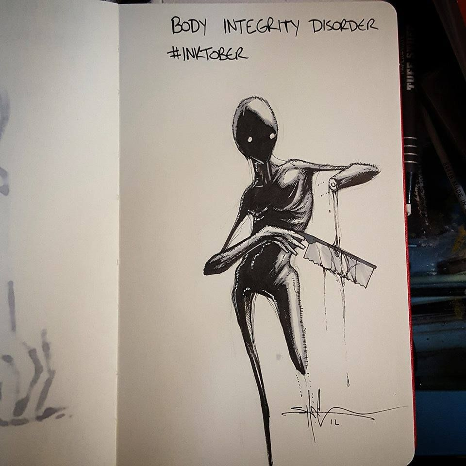 Body Integrity Disorder - Shawn Coss   disorders   Art