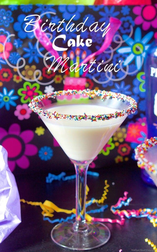 Birthday Cake Martini Recipe Birthday Cake Martini Martinis And