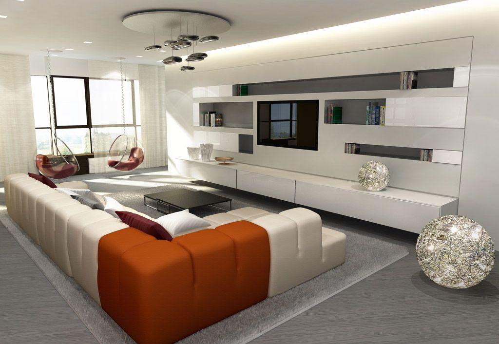 living moderno 3d | Exquisite Homes | Pinterest | Decoration, Living ...