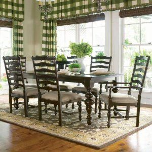 Bribepaula Deen Home  Paula's Rectangular Leg Dining Table Extraordinary Paula Deen Dining Room Set Design Ideas