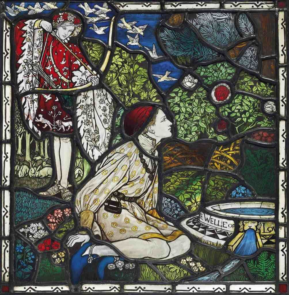 well of love margaret agnes rope stained glass