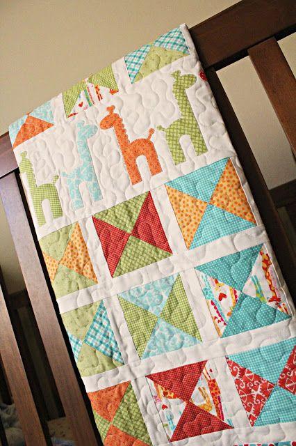 Adorable Giraffe Quilt | Quilts | Pinterest | Giraffe, Babies and ... : giraffe baby quilt pattern - Adamdwight.com