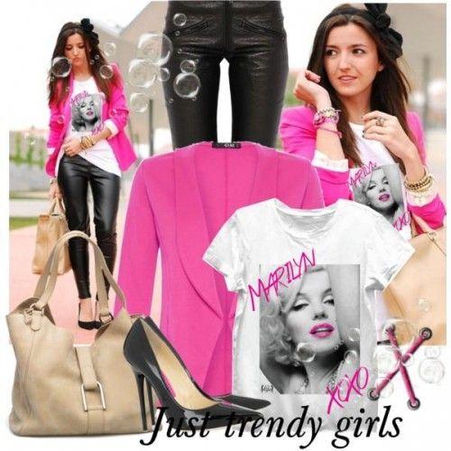 Trendy girly street styles | Just Trendy Girls