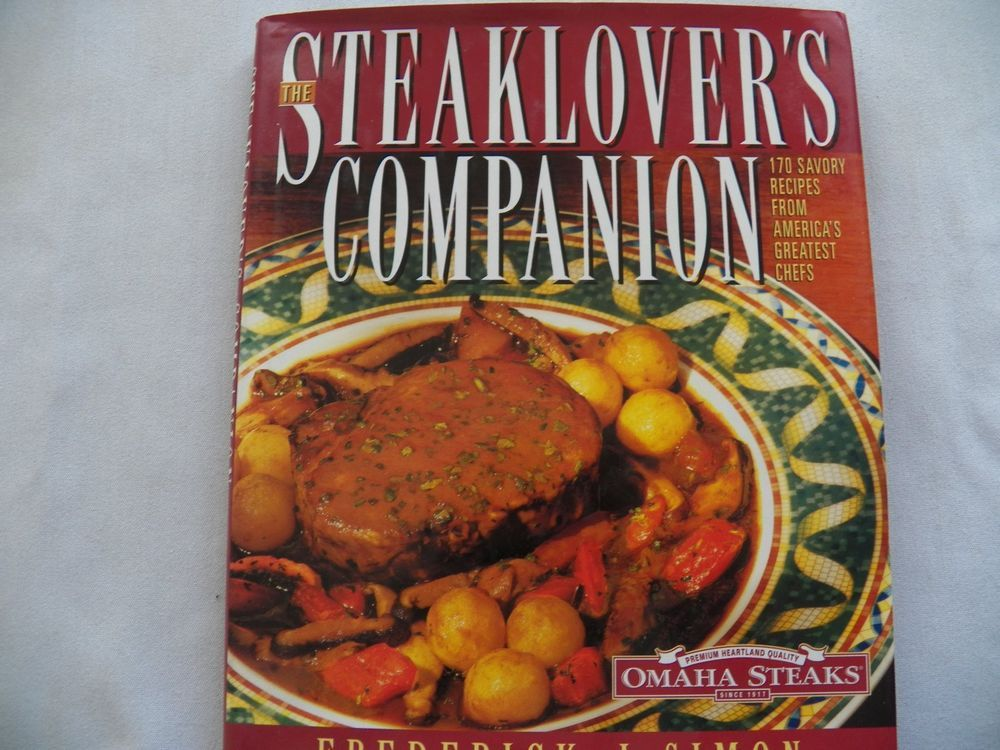 $3.50 The Steaklover's Companion 1997 HCDJ 1st Ed. (9415-1406) cookbooks
