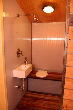 Turn The Cabin Bathroom Into A Wet Bath Description From Pinterest Com I Searched For This On Bing Com Image Tiny House Bathroom Tiny Bathrooms Tiny Wet Room