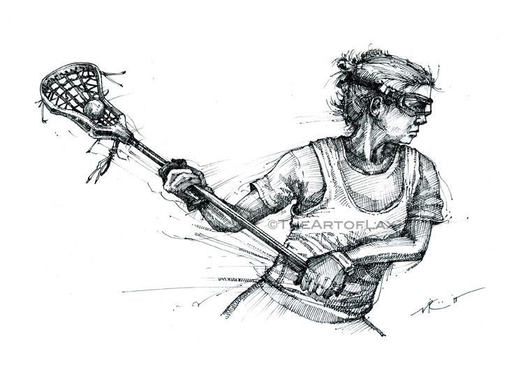 Lax Drawings 1 Lacrosse Girls Lacrosse Womens Lacrosse