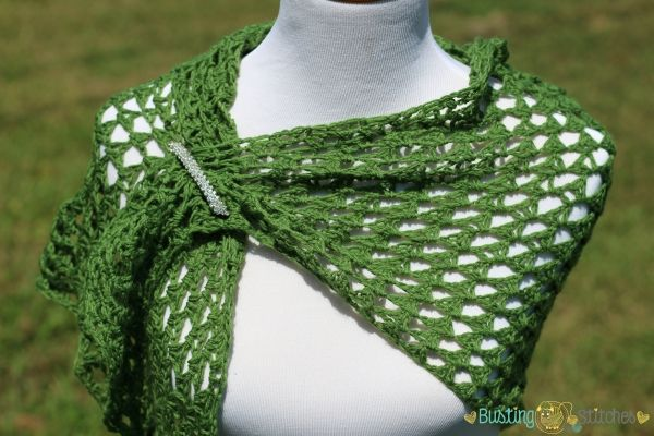 Olive Crochet Triangle Shawl Busting Stitches Crochet Shawl Easy Crochet Triangle Sock Yarn Crochet