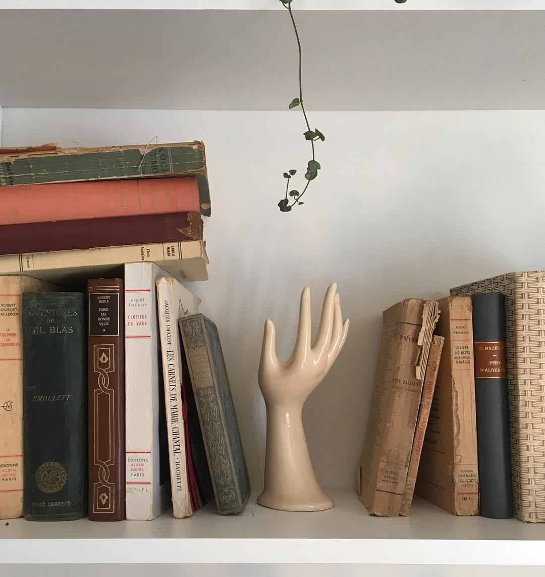 A Modern Bohemian Bookshelf