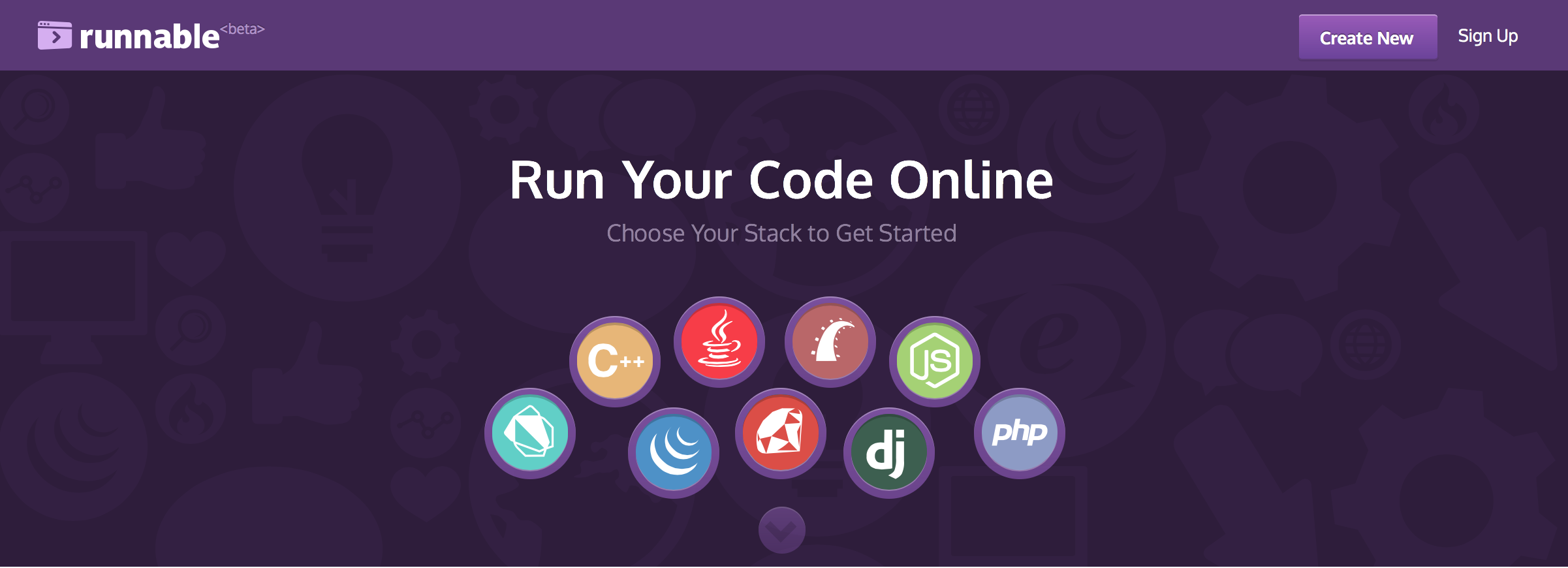 Runnable - Run and test Node js, PHP, Java etc Demo Code