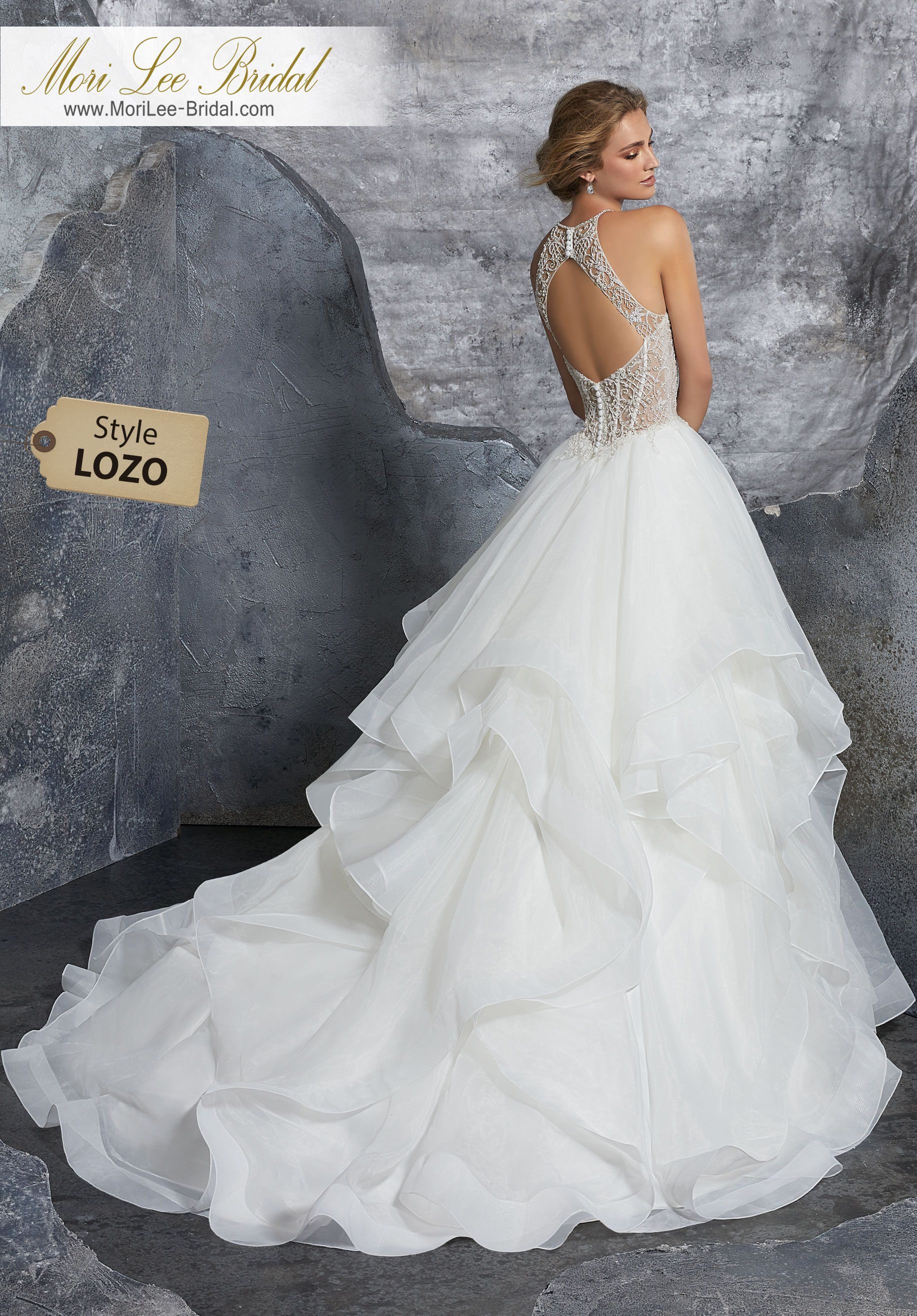 Style lozo kali wedding dress dreamy bridal ballgown featuring a