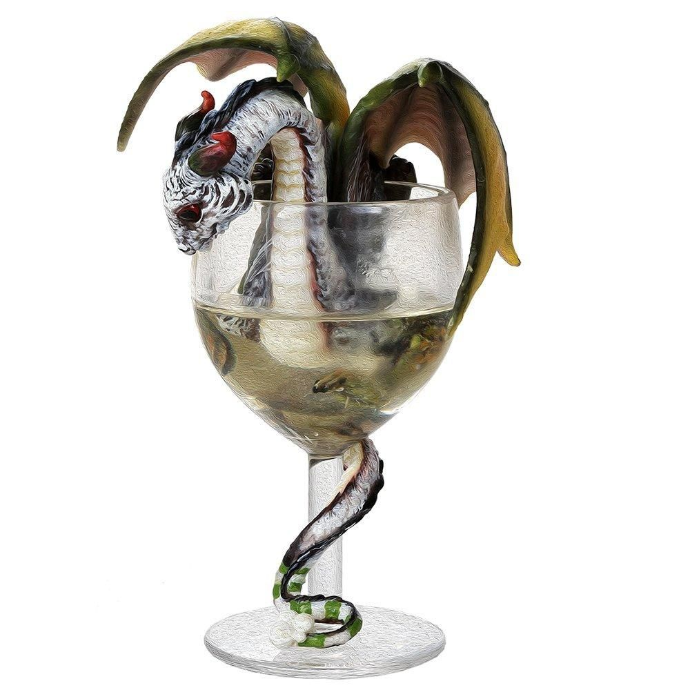 NEW WHITE WINE RENAISSANCE COLLECTIBLE FIGURINE STATUE BY STANLEY MORRISON