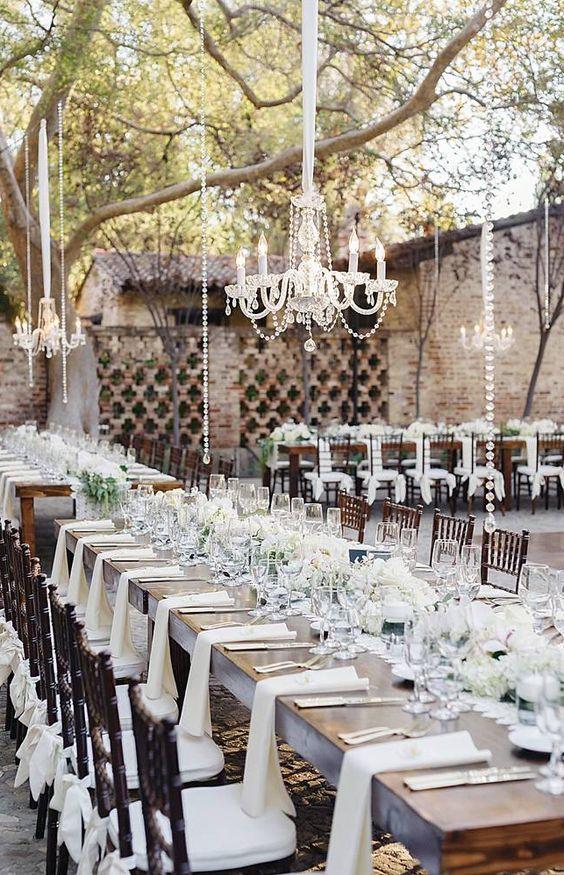 Wedding reception centerpiece idea; Featured Photographer: Jana Williams Photography