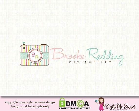 Brooke Redding Premade Logo Design