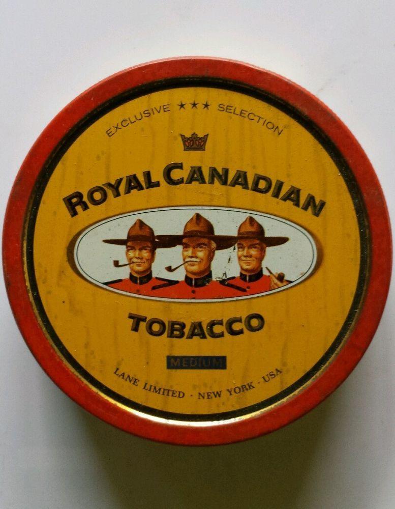 Royal Canadian 1   Pipe Tobacco Tins   Pinterest   Pipas, Exuberante ...
