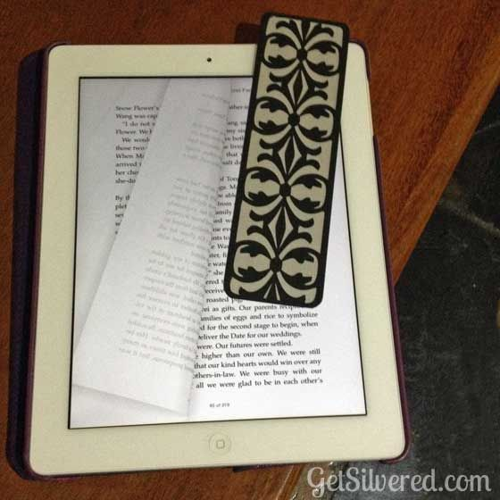 Damask Bookmark or Overlay – Free File Friday  | Silhouette