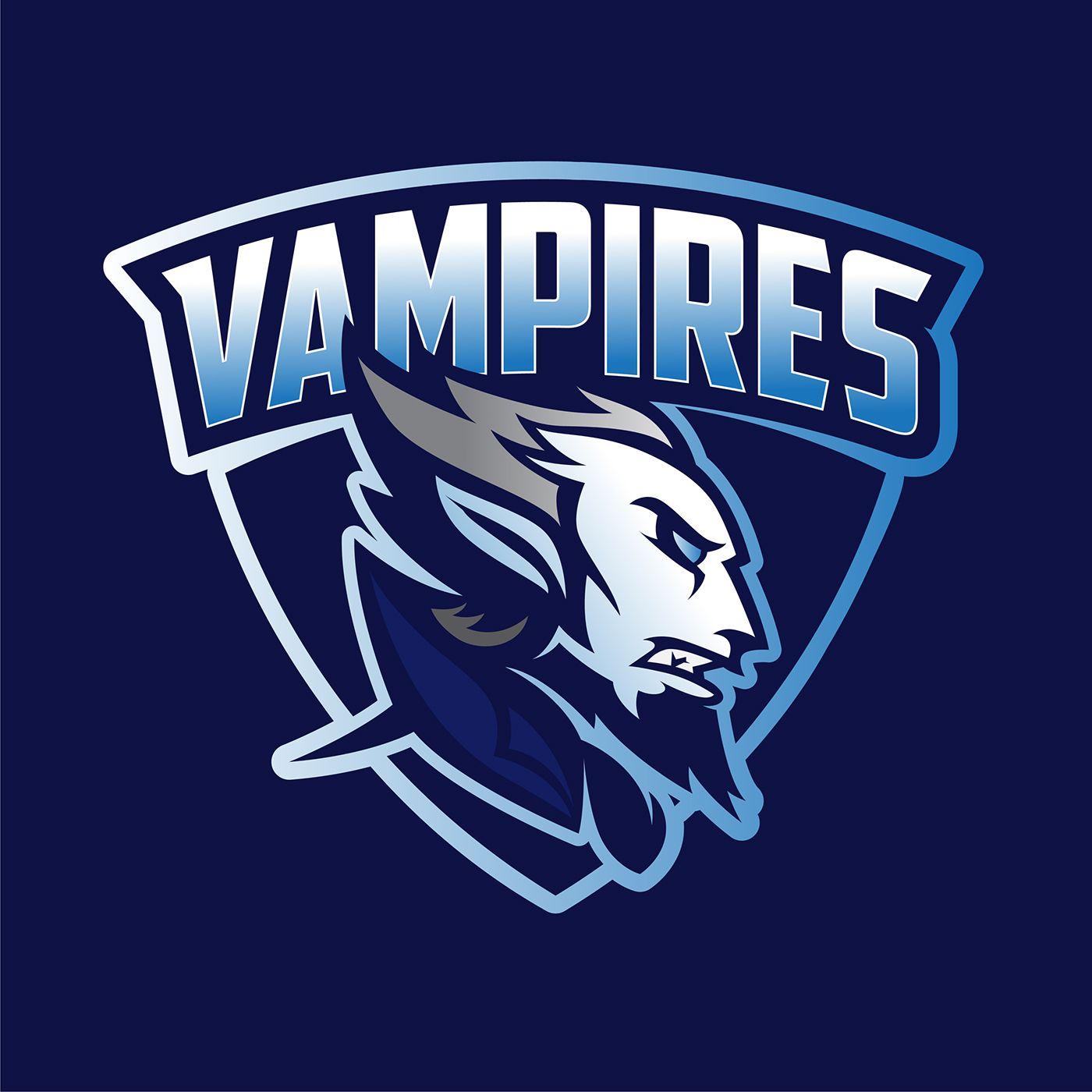 Vampires Logo Concept For Sale On Behance